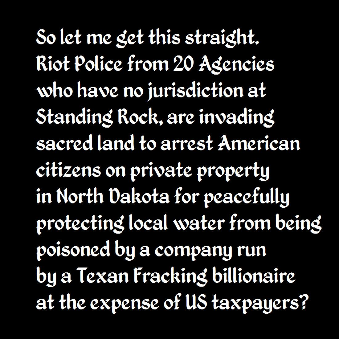 I Stand With Standing Rock!