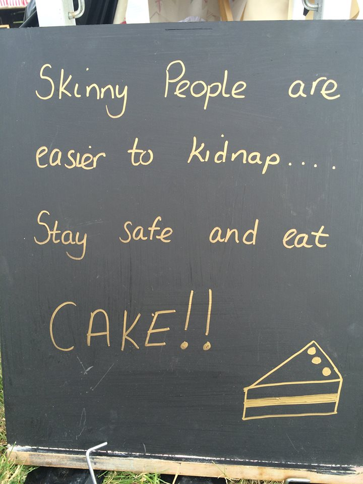 Stay Safe - Eat Cake