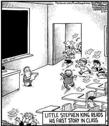 Stephen King Reads His First Story In Class
