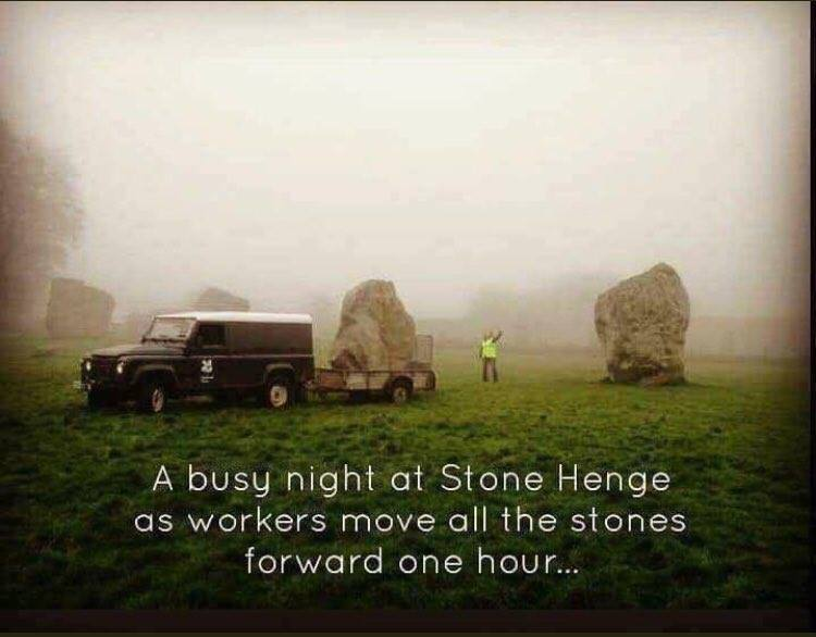 Stonehenge Daylight Savings