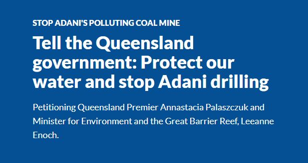Stop Adani Polluting