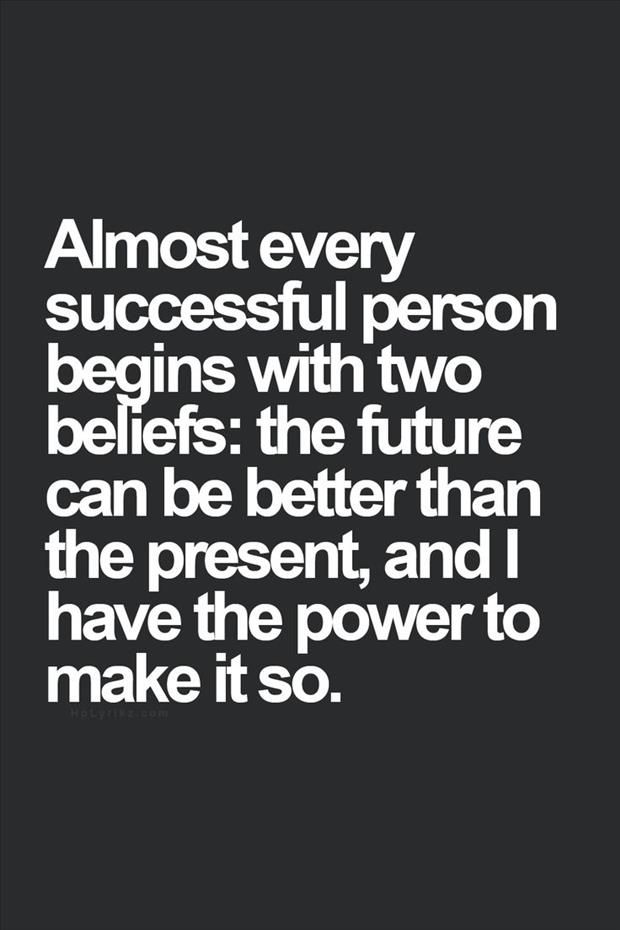 Success Starts With Two Beliefs