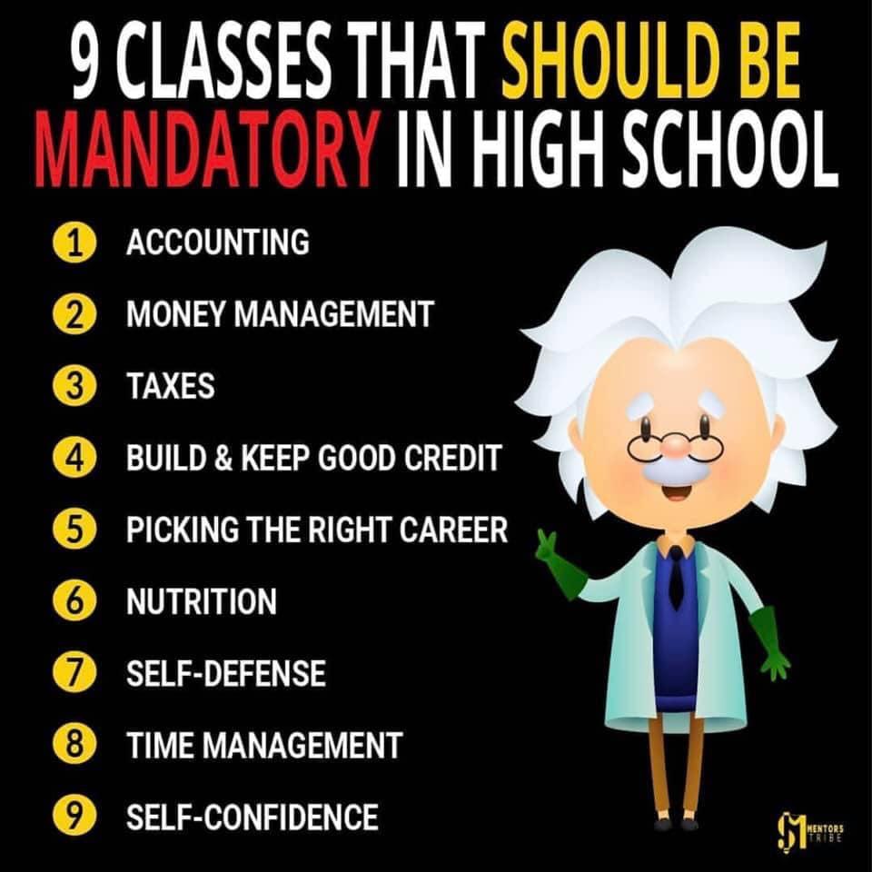 Suggwested Mandatory Classes