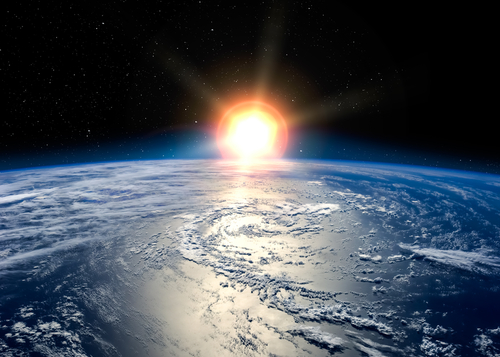 Sunrise-Space