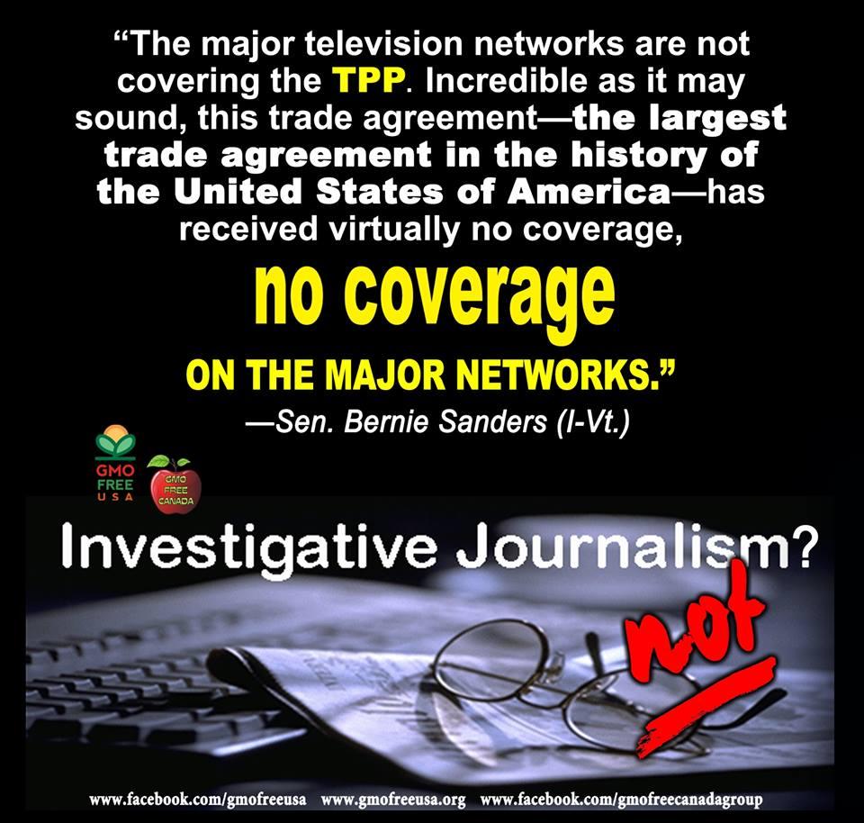 TPP A Secret Deal For Disaster
