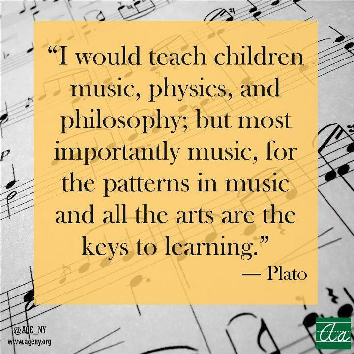 Teach Children Music - Plato