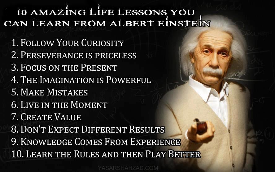 Ten Principles From Eistein