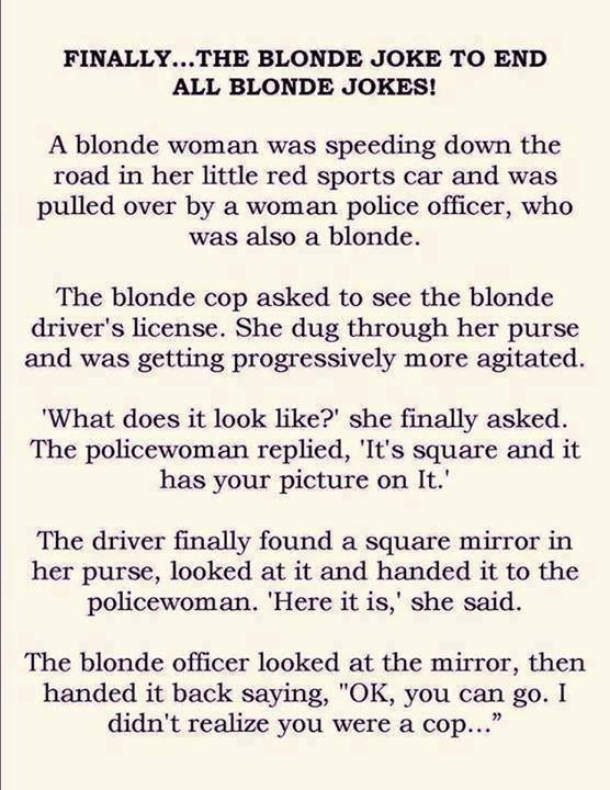 The Blonde Joke To End All Blonde Jokes