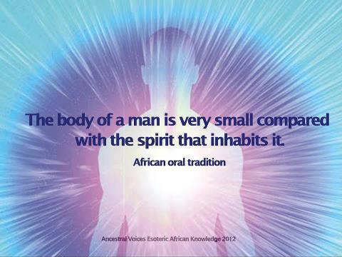 The Body Of A Man Is Very Small Compared With The Spirit That Inhabits It