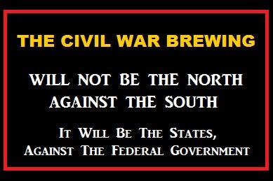 The Civil War Brewing