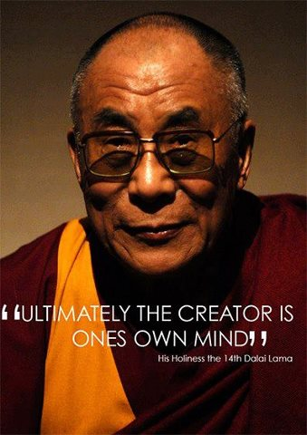 The Creator Is Ones Own Mind