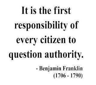 The First Responsibility Of Every Citizen