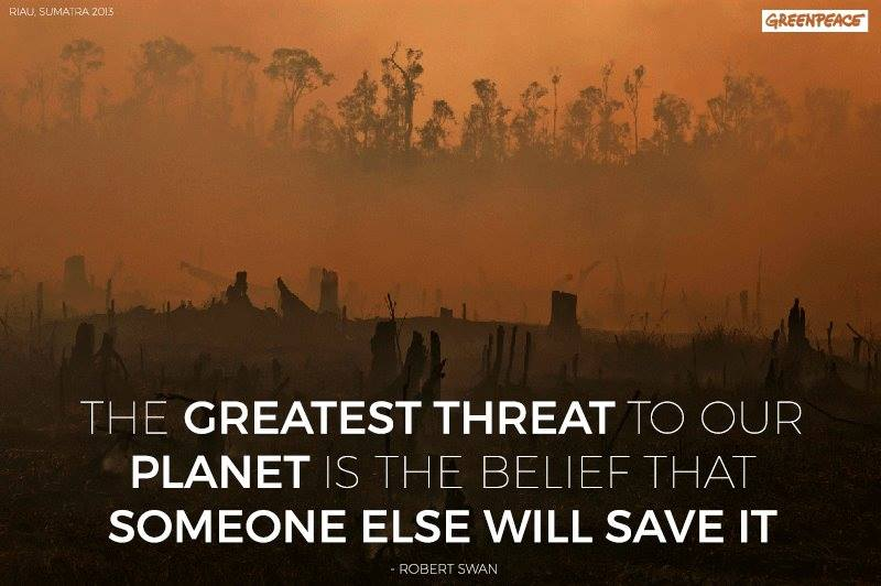 The Greatest Threat To Our Planet