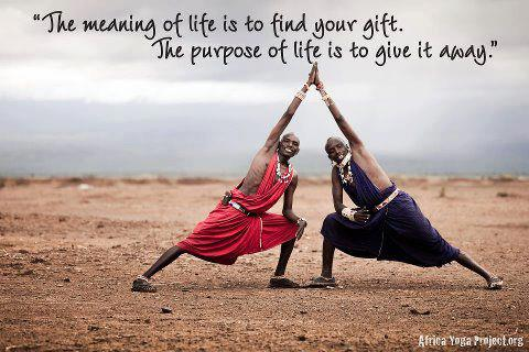 The Meaning Of Life Is To Find Your Gift.