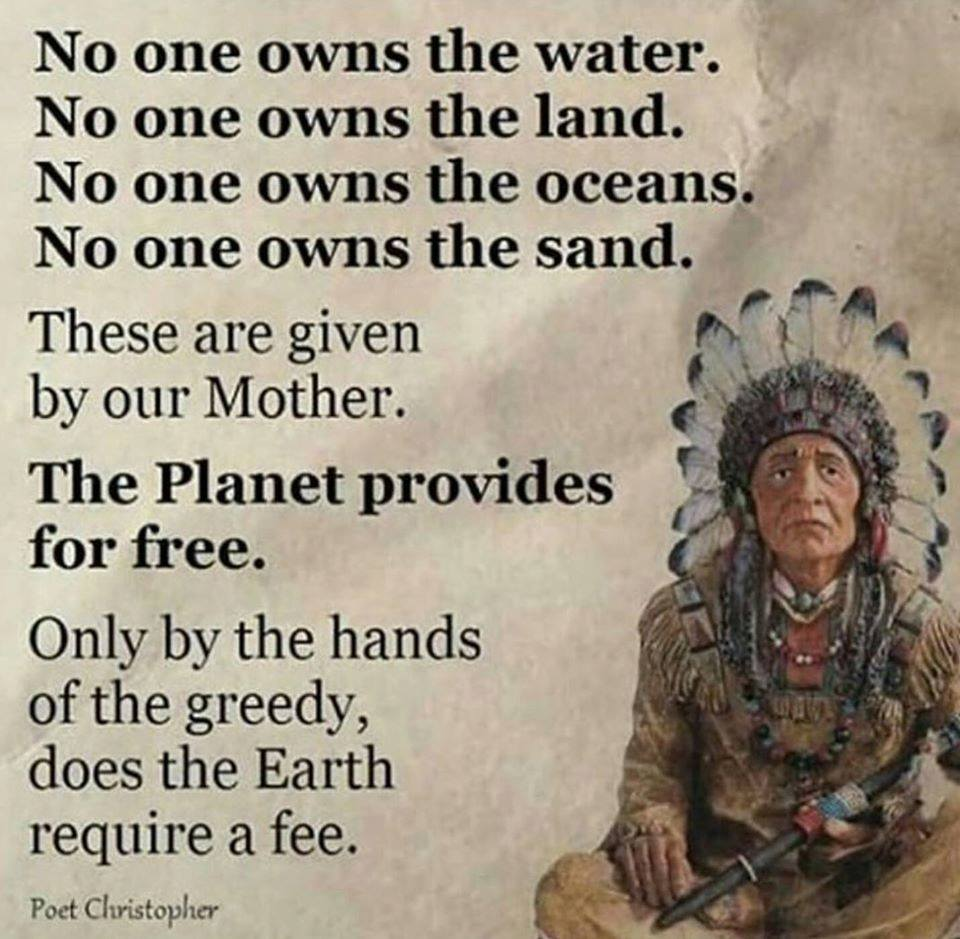 The Planet Provides For All