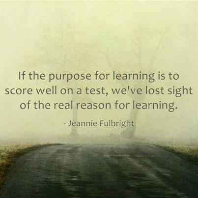 The Purpose Of Learning