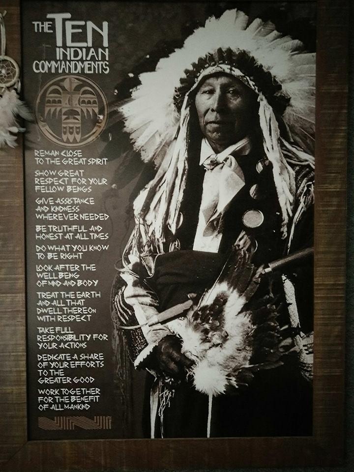 The Ten Indians Commandments