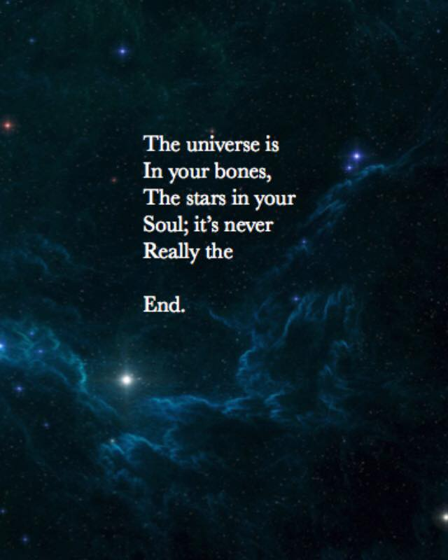 The Universe Is In Your Bones