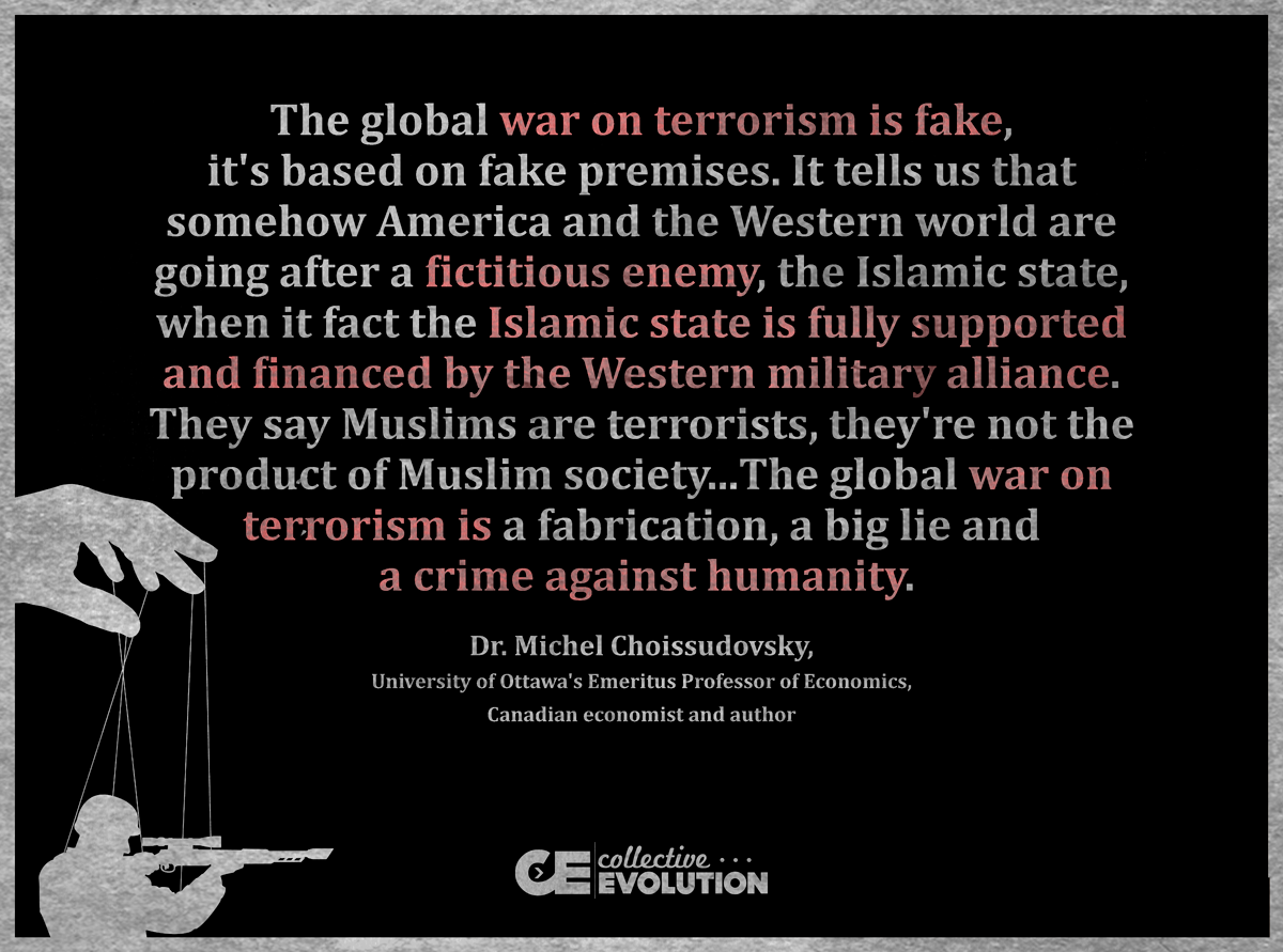 The War On Terror Is A Fake