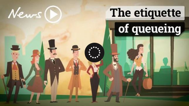 The Etiquette Of Queueing