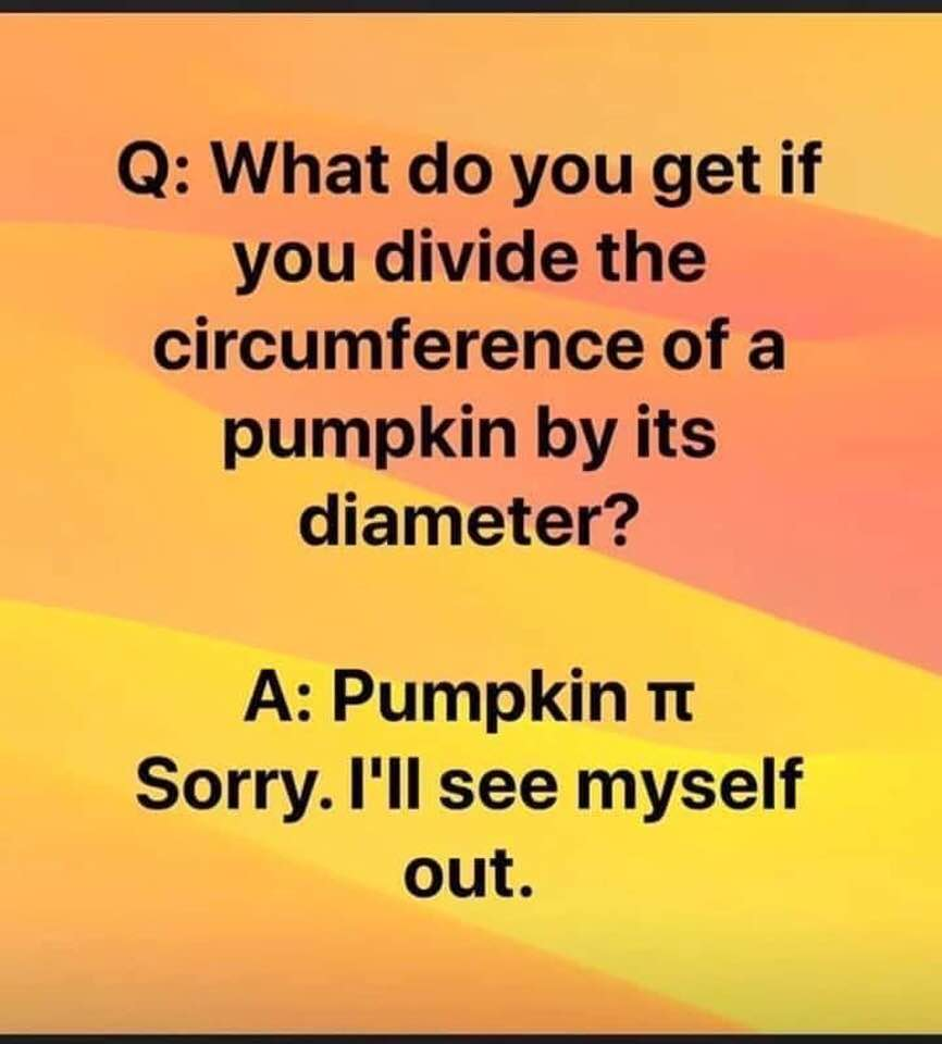 The Great Pumpkin Divide