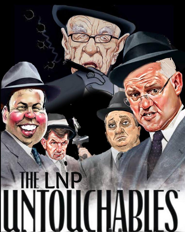 The LNP Untouchables