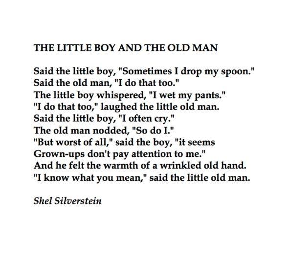 The Little Boy And The Old Man