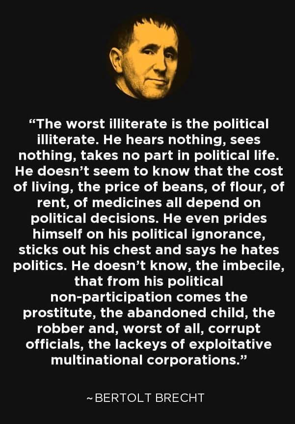 The Political Illiterate