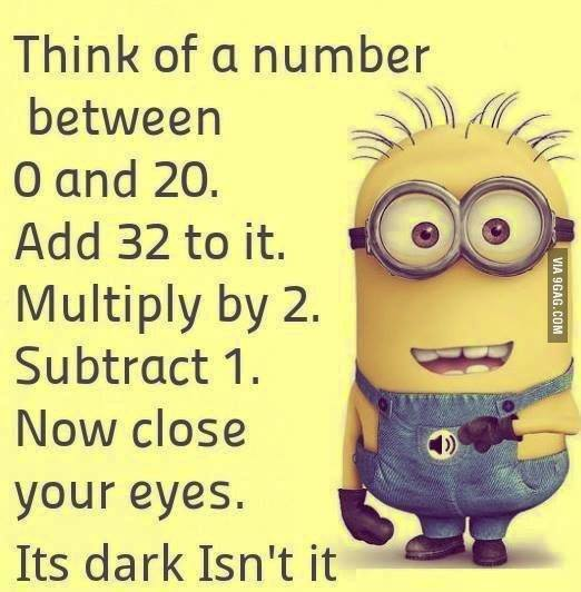 Think Of A Number...