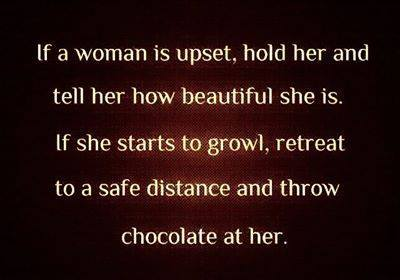Throw Chocolate At Her