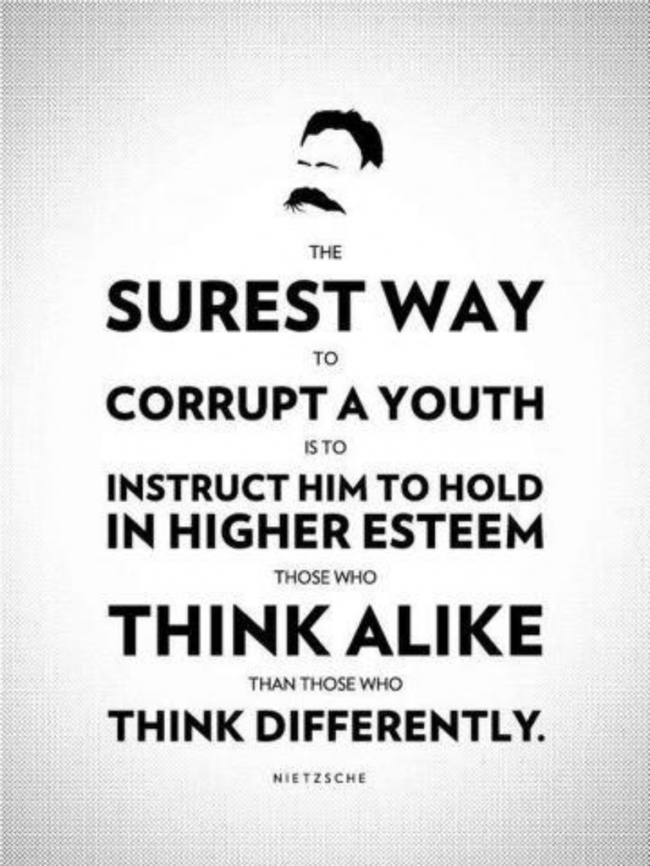 The Surest Way To Corrupt Youth