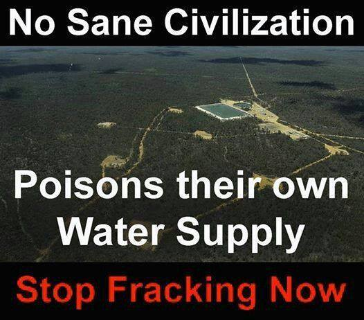 To Poison One's Own Water Is Insanity