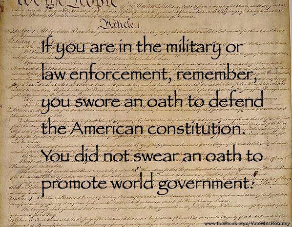 To the US Military