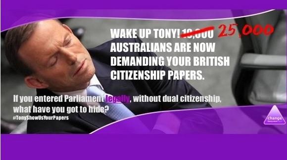 Tony Abbott Dual Citizen?