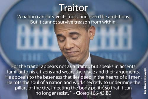 Traitor Quote From Cicero