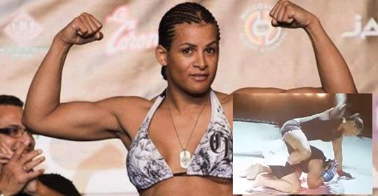 Transgender_MMA_Fighter Breaks Skull of Opponent