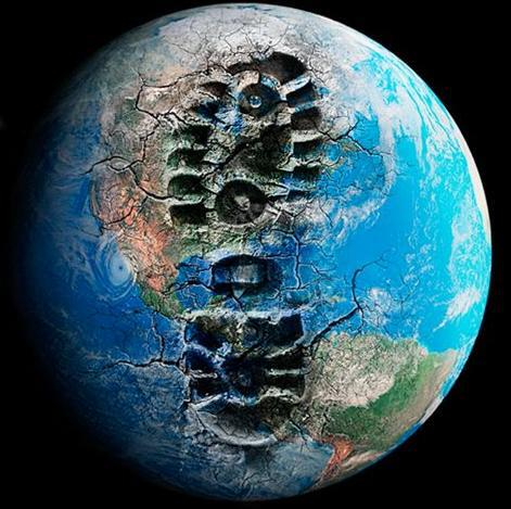 Tread lightly.. ...the Earth you save may be your own.
