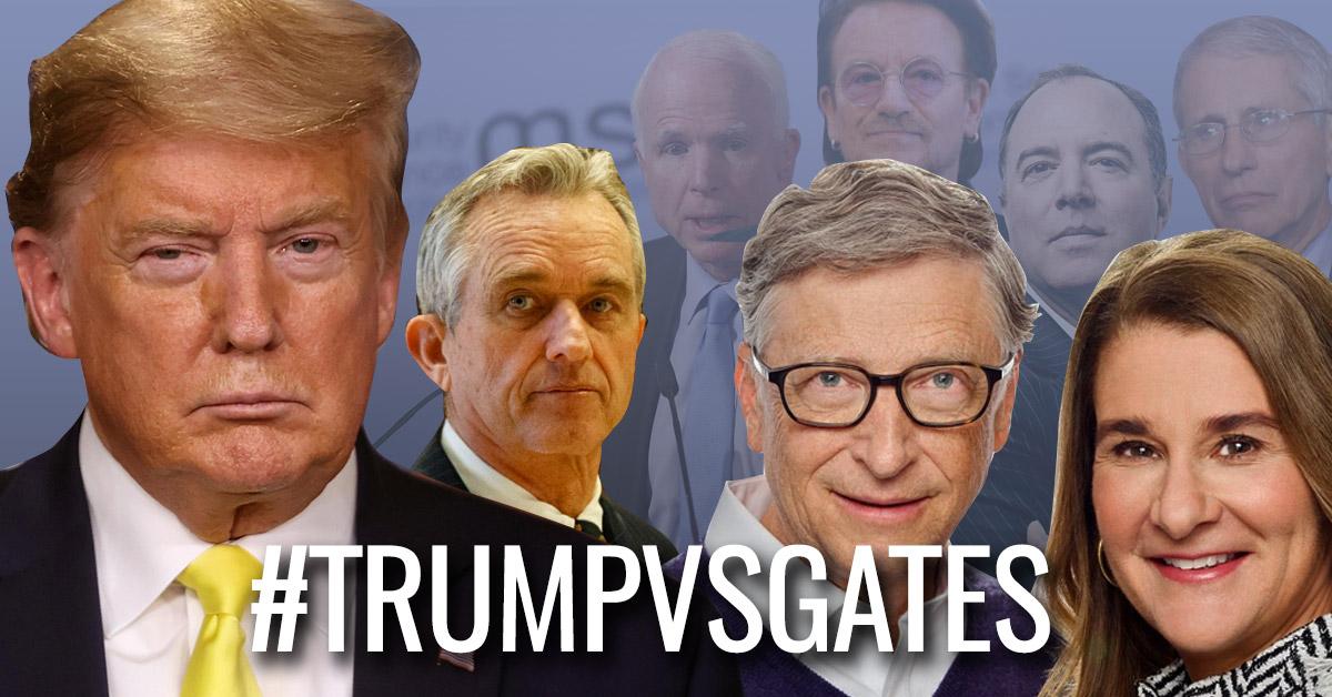 Trump Vs Gates