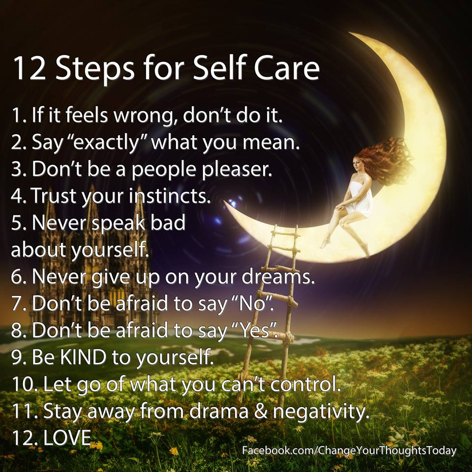 Twelve Steps For Self Care