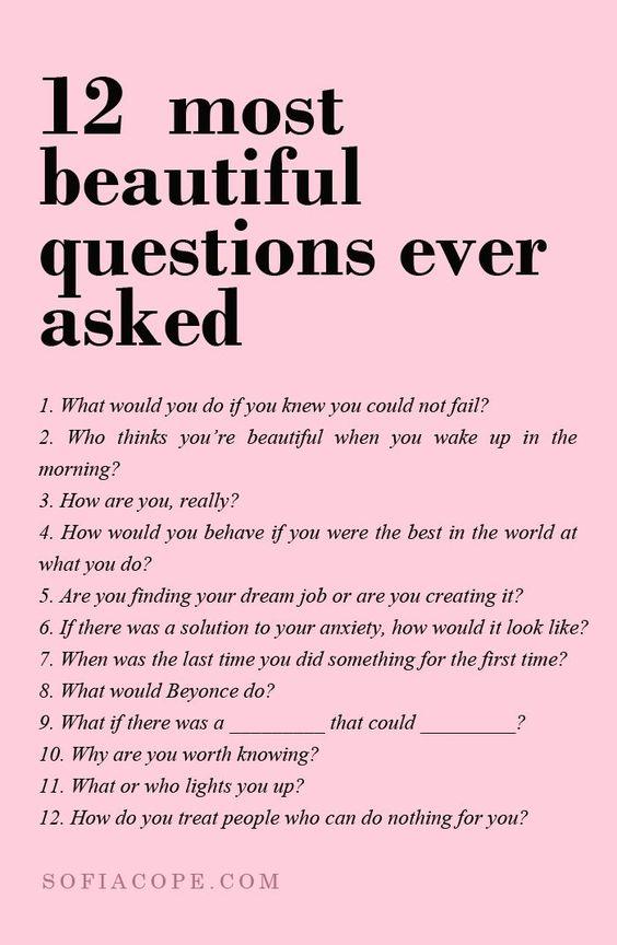 Twelve Questions