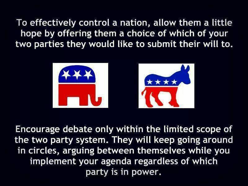Two Party Distraction