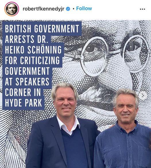 UK Govt Arrests Dr Heiko Schoning