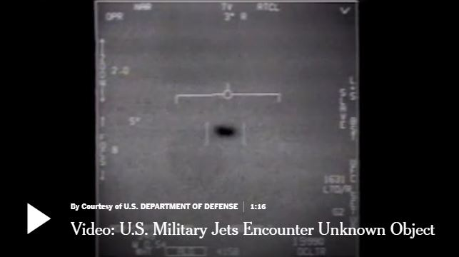 US Jet Image Of UFO