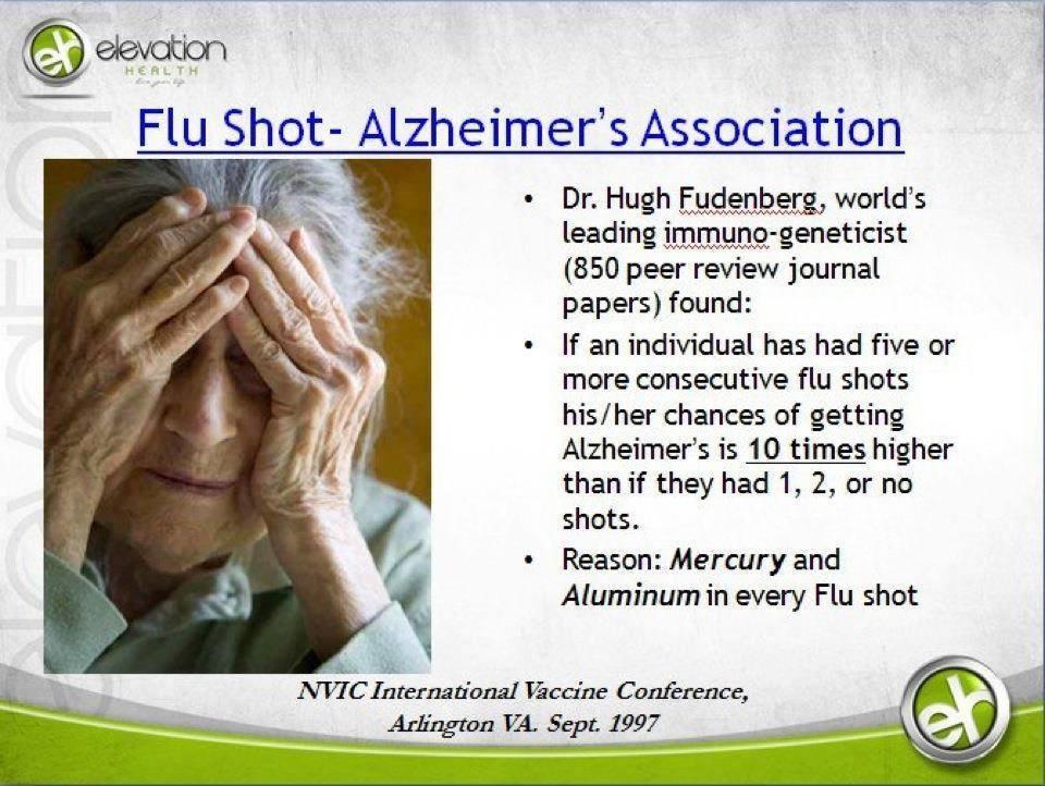 Vaccine-Alzheimers Link