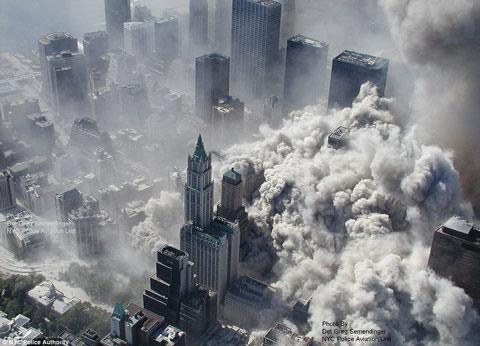 WTC 911 False Flag Collapse Smoke