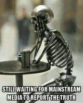 Waiting For MSM To Report Truth