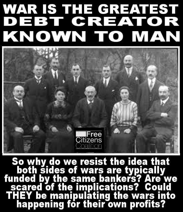 War Creates Debt