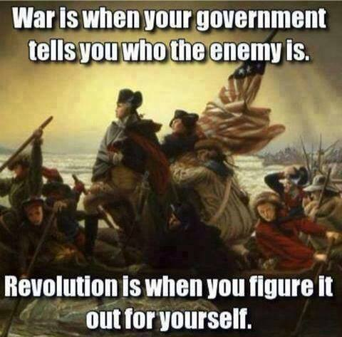 War Versus Revolution