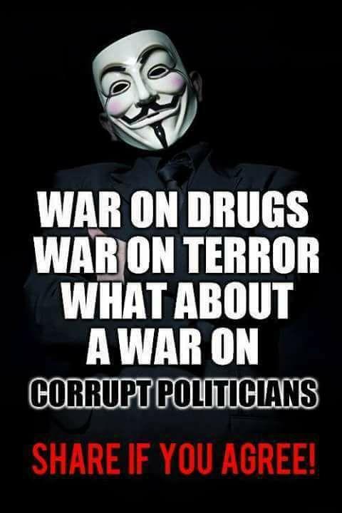 War On Corrupt Politicians