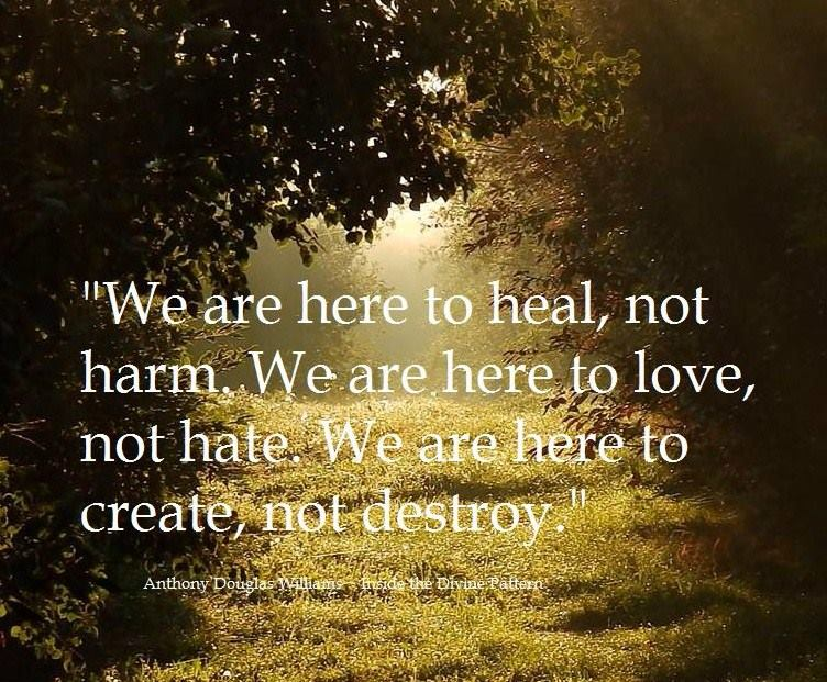 We Are Here To Heal